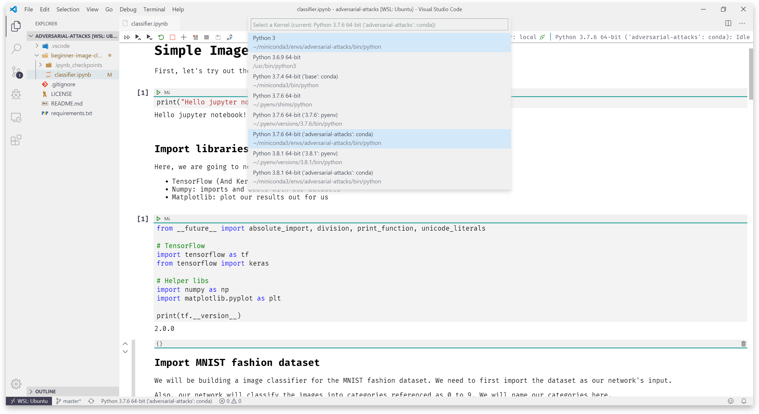 Running Jupyter Notebook directly inside VS Code like a PRO!