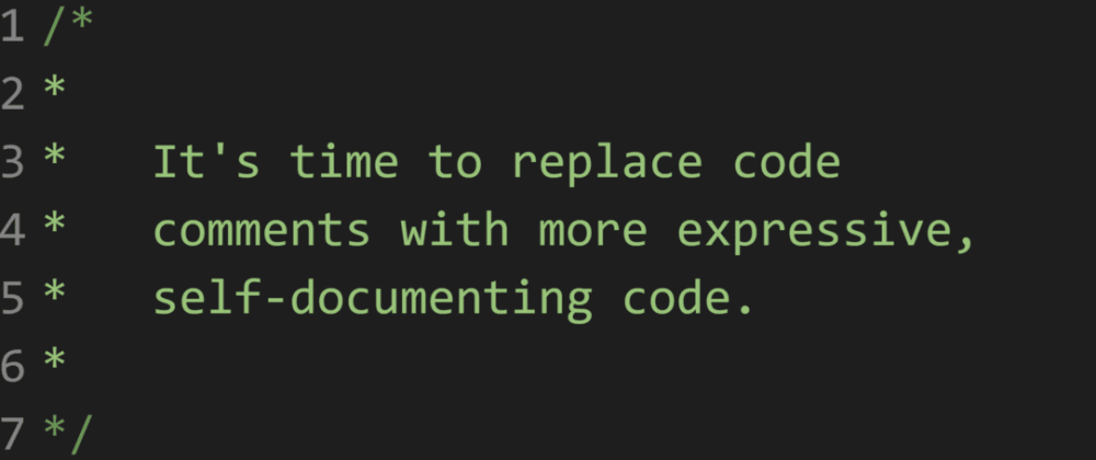 Code Comments are Stupid