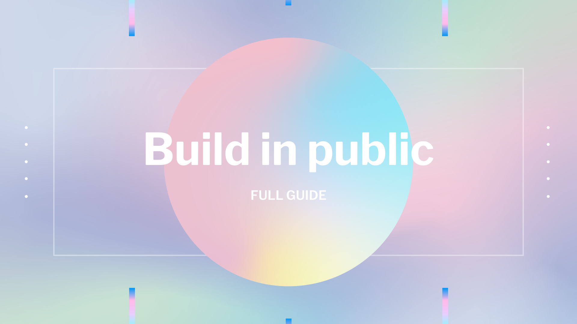 What is build in public?