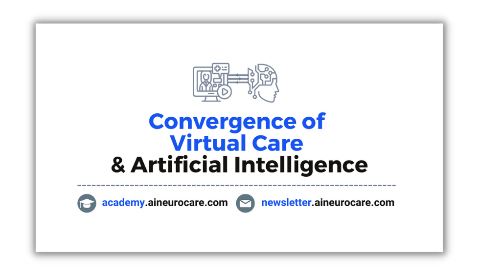 Convergence of Virtual Care & Artificial Intelligence