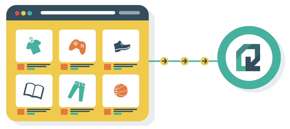 Platforms with native integrations sends data directly to Quaderno.