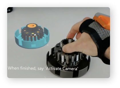 AR guided assembly