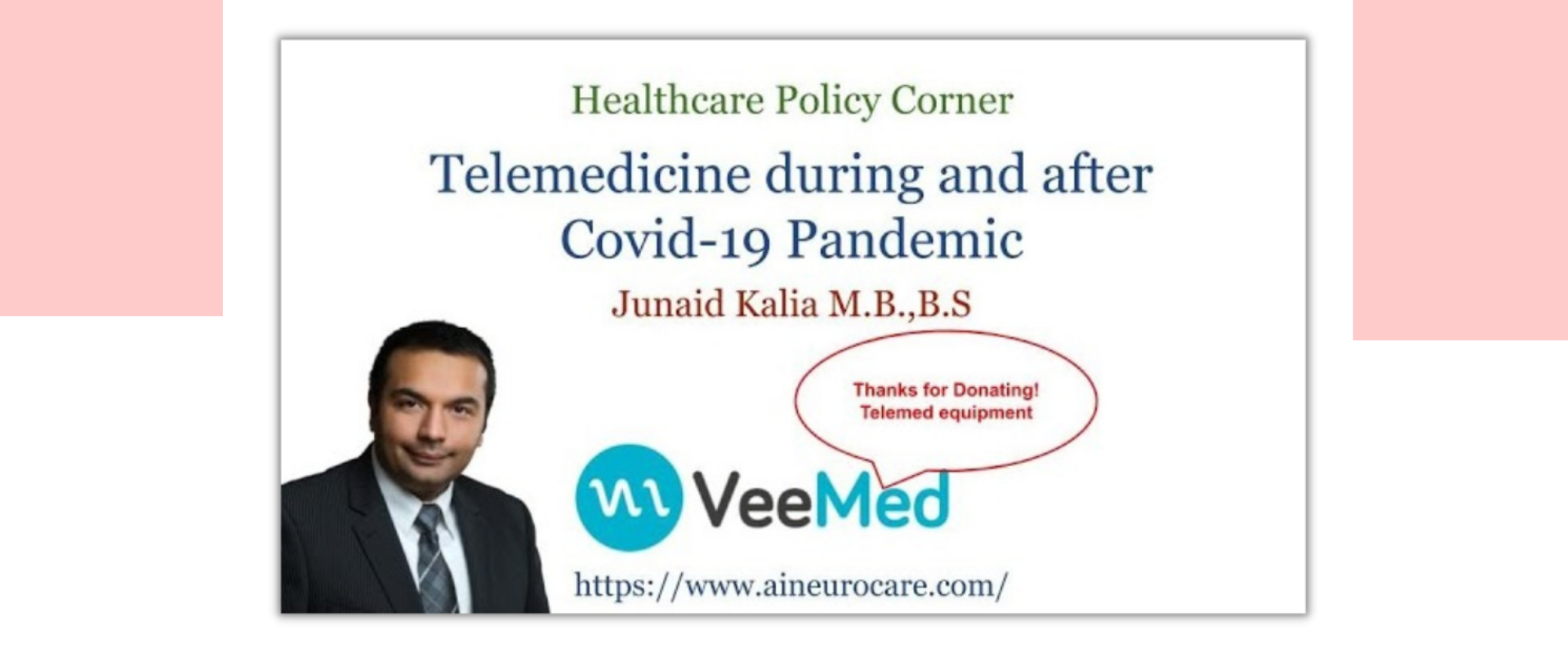 Telemedicine during and after Covid-19 Pandemic