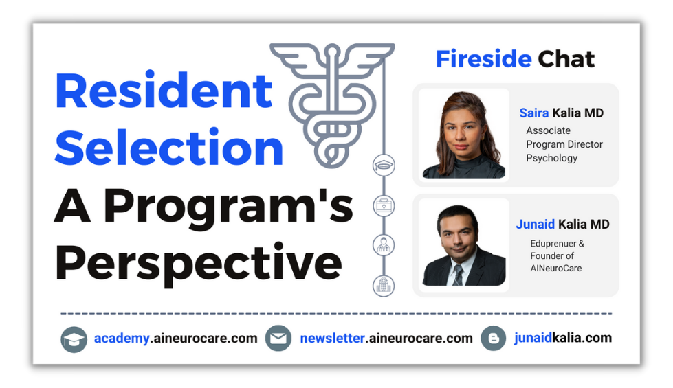Resident Selection Program's Perspective