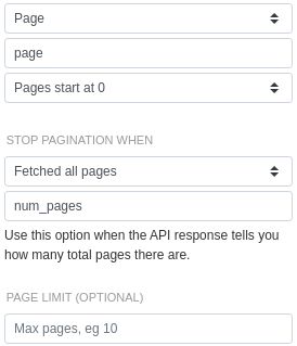 The final result: the ProPublic API is now fully configured for page-based pagination.