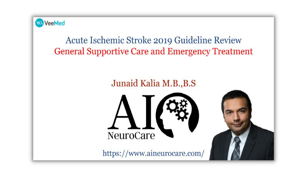 General Supportive Care and Emergency Treatment of Stroke