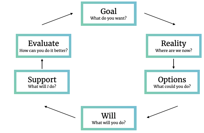 GROW framework with two more steps
