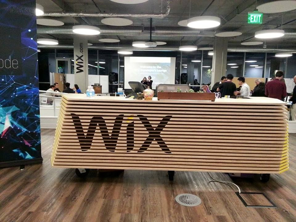WIX office for IBM design thinking sharing session