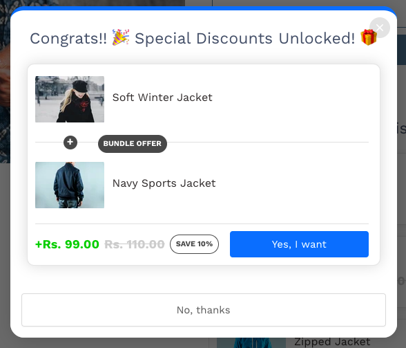 Add to cart button without icon