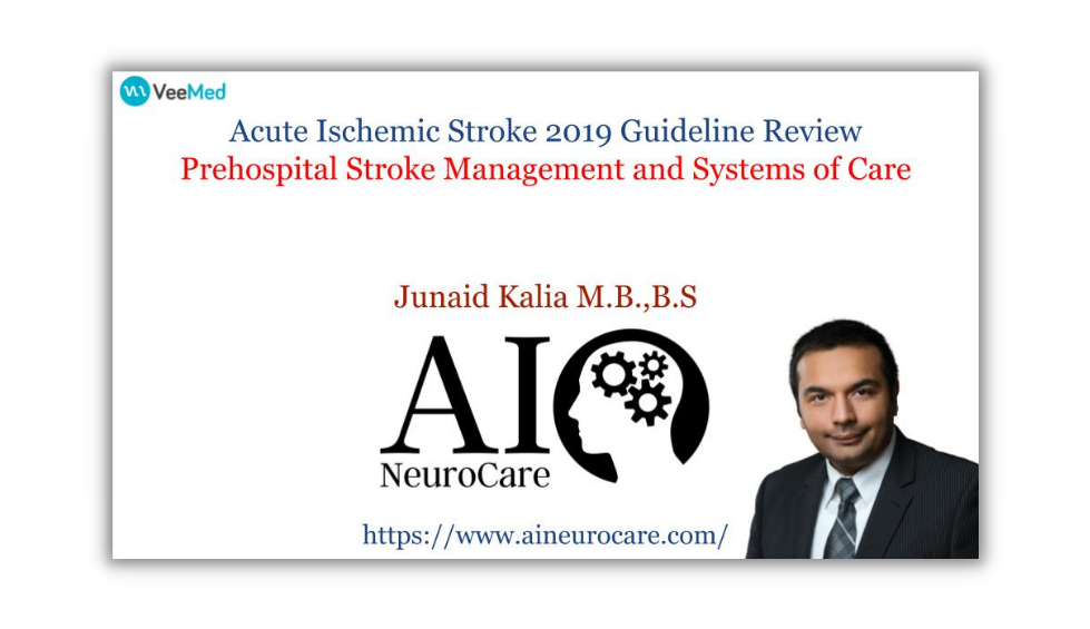 Prehospital Stroke Management and Systems of Care & TeleStroke