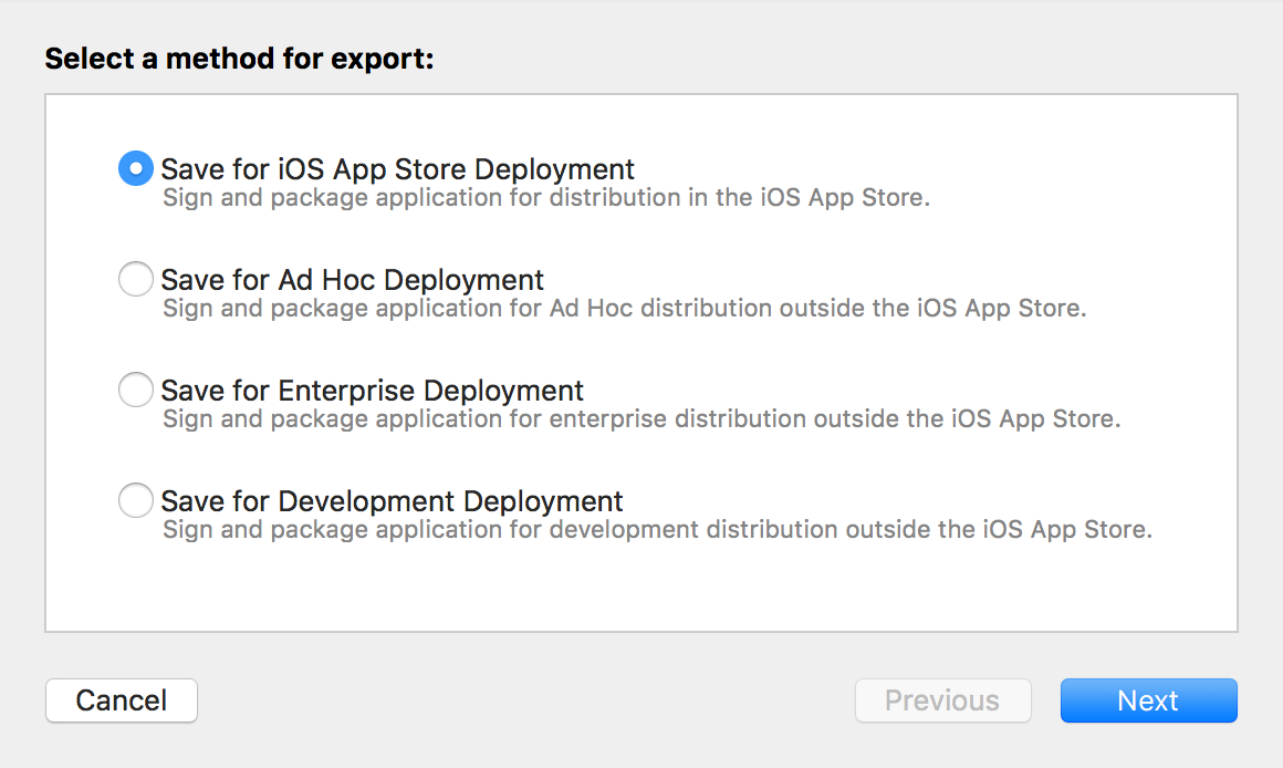 App Submission Process / Export IPA file / Essential iOS
