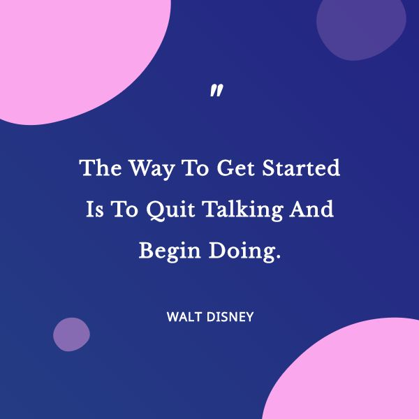 Purple Inspirational Quote Blobs Instagram Feed Post