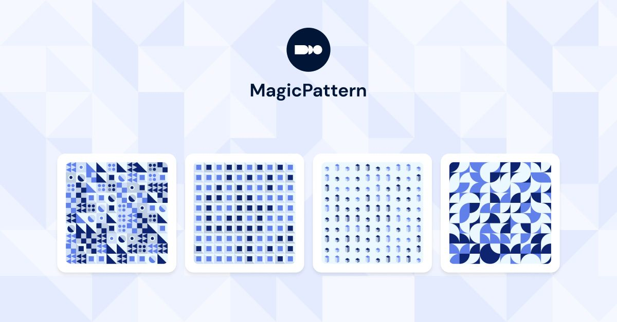 Create your own pattern packs