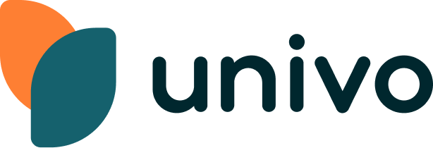 Modern logo design for univo.io
