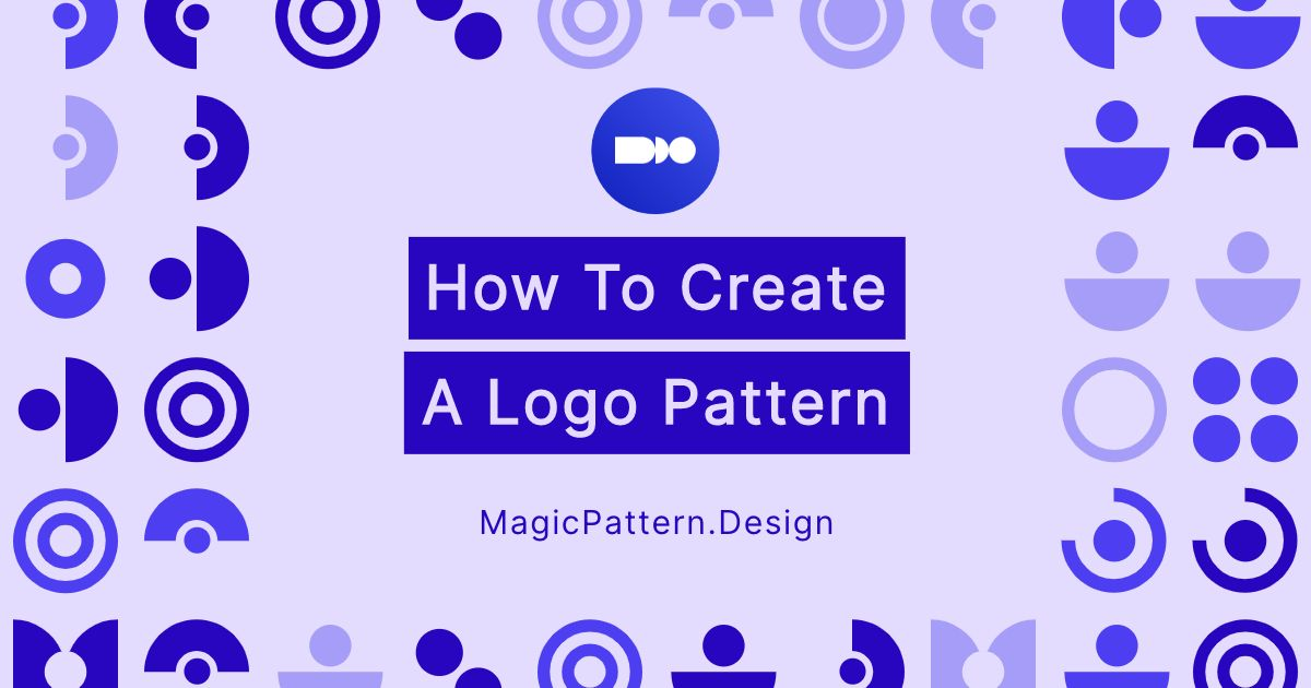 How to create a logo pattern